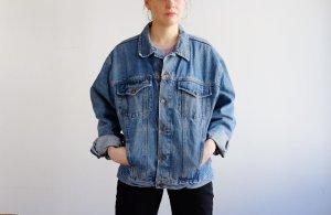 90s jeansjacke blau oversize denim S M 36 38 40
