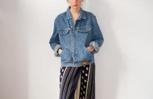 90s jeansjacke hellblau denim S M oversized 36 38 40