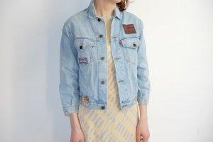 Denim Jacket azure cotton