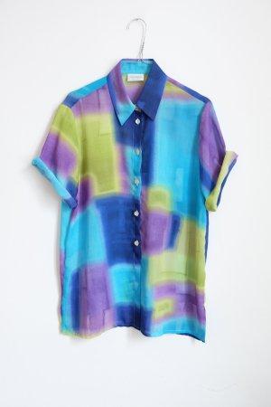 90s longshirt longbluse shirtdress oversize graphisch muster