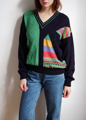 Jersey de punto multicolor Algodón