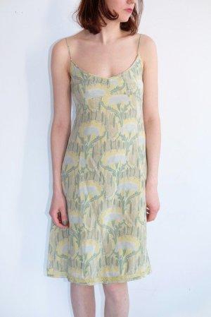 Noa Noa Pinafore dress multicolored silk