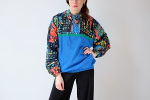 Windbreaker multicolored