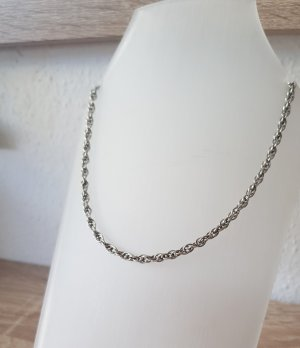 Curb Chain silver-colored real silver