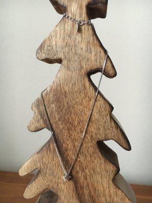 925 Silber Kette mit Sternchenanhänger