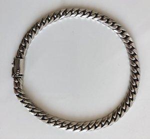 925 Silber Massiv Sterling Panzerarmband Armband unisex Gliederarmband Damen Herren Silberarmband Klassisch