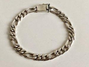 925 Silber Massiv Sterling Panzerarmband Armband unisex Gliederarmband Damen Herren Silberarmband cool 70s