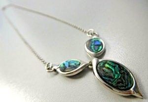 Modern vintage Collar estilo collier multicolor plata verdadero