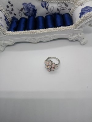 925 Silber Ring mit Opale!