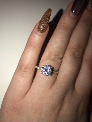 Bijou Brigitte Zilveren ring zilver