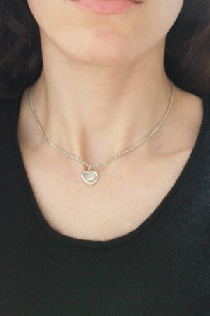 925 Silver Necklace + Pendant