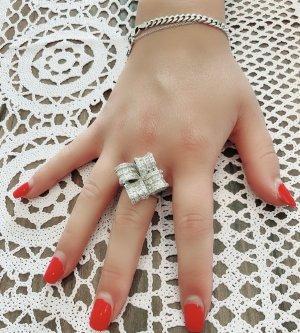 925 sterlin Zirkonia steine damen Ring NEU
