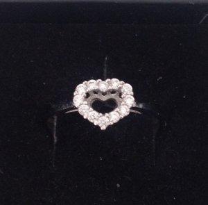 925 Sterling Silber Herz