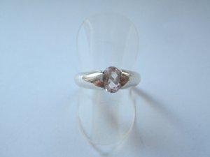 Zilveren ring zilver-lichtroze Zilver