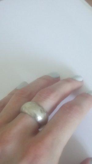 925er breiter Silberring