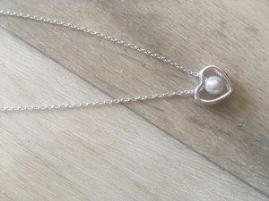 Bijou Brigitte Necklace white real silver