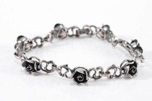 925er Silber Armband Rosen silberarmband Juwelierstück