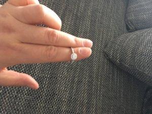 925er Sterling Silber Ring