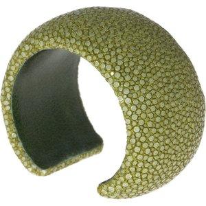 a cuckoo moment Jonc vert olive cuir