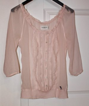 Abercrombie & Fitch Ruffled Blouse multicolored