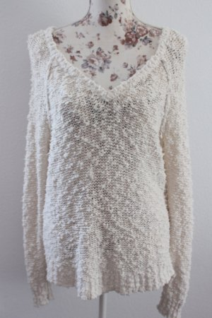 A&F flauschiger Oversize-Sweater in S