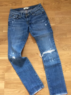 Abercrombie & Fitch Slim Jeans azure