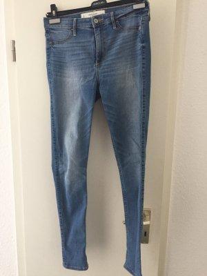 Abercrombie & Fitch Skinny jeans korenblauw