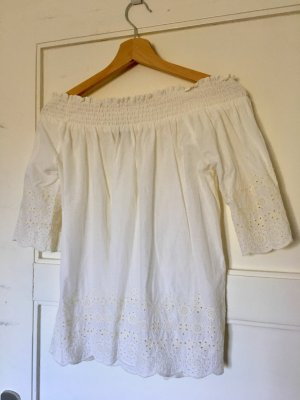 A&F Schulterfreie Bluse