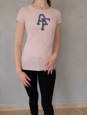 A&F T-Shirt im zarten Rosa
