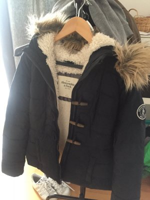 A&f Winterjacke mit Fell