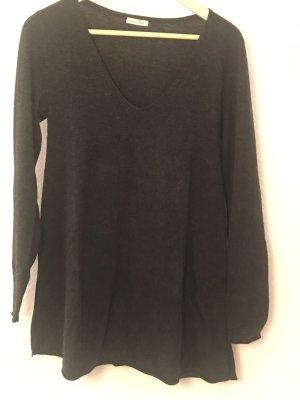 American Vintage V-Neck Sweater anthracite