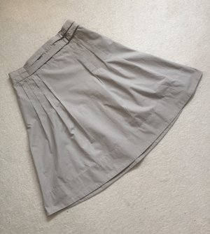 H&M Flared Skirt sage green