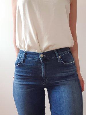 a gold e Skinny Jeans blue