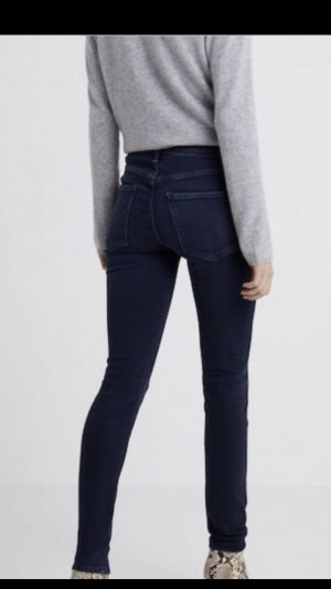 a gold e Hoge taille jeans staalblauw