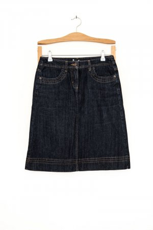 A-line dark Denim Rock