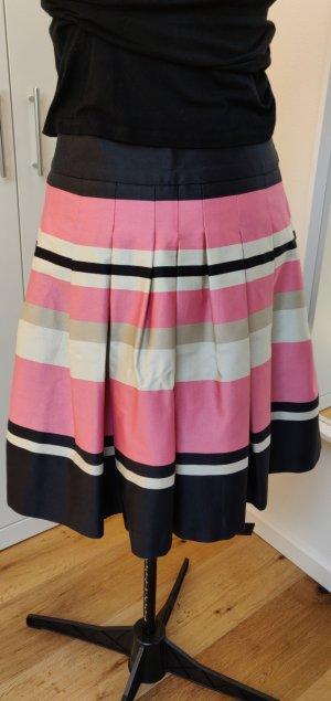 H&M Jupe à plis multicolore tissu mixte