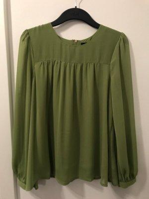 A-Linie, Bluse grün, H&M, Größe 36