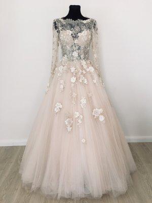 A-Linie Boho Vintage Style Brautkleid Verlobungskleid Hochzeitskleid Gr. 38