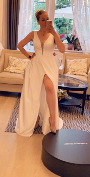 A-Linie Brautkleid Hochzeitskleid Gr. 36-38 ivory