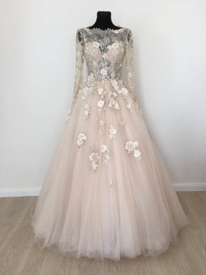 Wedding Dress white-nude