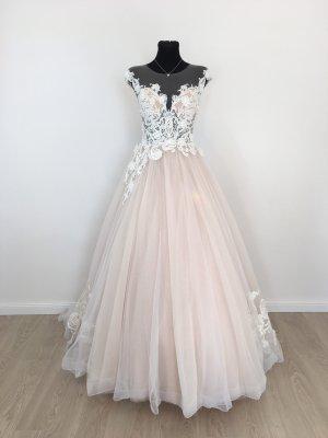 A-Linie Rokoko Style Brautkleid Hochzeitskleid Gr. 38 Blush