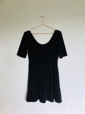 A-Linie Shirtkleid mit großem Rundhals Ausschnitt