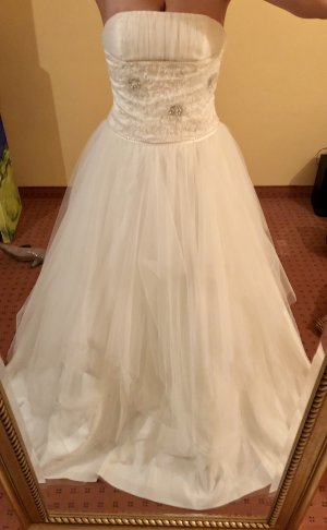 A-Linien-Brautkleid inkl. Unterrock, Lilly, ivory, nie getragen