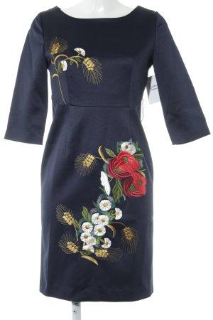A Line Dress flower pattern elegant