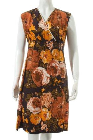A-Linien Kleid Blumenmuster Romantik-Look