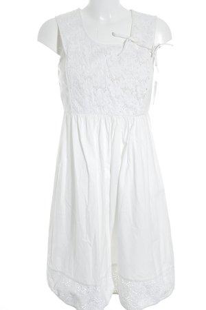 A-Linien Kleid creme Casual-Look
