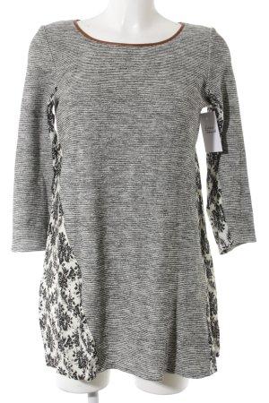 A-Linien Kleid florales Muster Romantik-Look