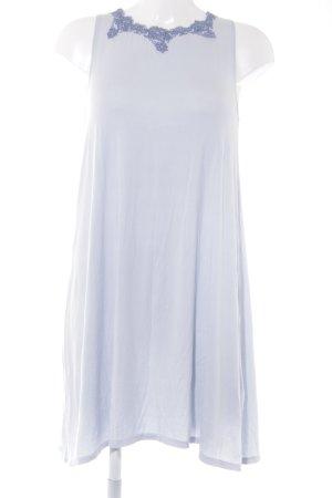 A-Linien Kleid hellblau-blau Casual-Look