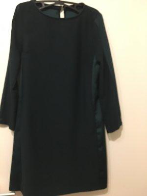 A-Linien-Kleid in edlem Flaschengrün