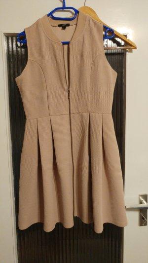 A-Linien-Kleid mit Reisverschluss